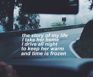 one direction, Lyrics, and song image