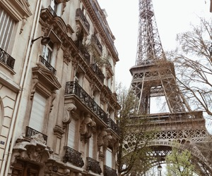 boho, city, and paris image