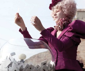 district 12, effie trinket, and reaping image