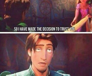 funny, quotes, and tangled image