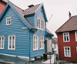 35mm, bergen, and blue image