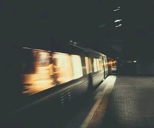 train and light image