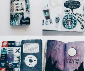 cool, journal, and hipster image