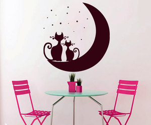 home decor, wall decals, and wall decal image