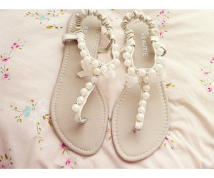 sandals, shoes, and white image