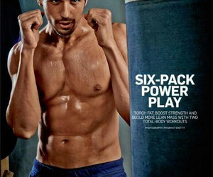Hot and six pack image