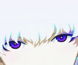 beautiful, blonde, and violet eyes image