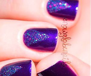 girl, nails, and sparking. .. image