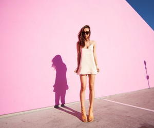 blogger, simple dress, and fashion image
