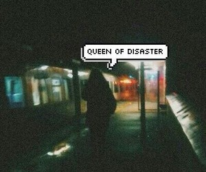 disaster, alone, and grunge image