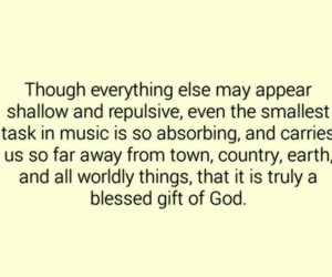 music, true, and god image