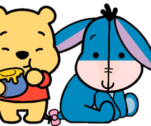 pooh, honey, and winnie the pooh image