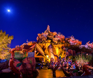Walt Disney World and splash mountain image