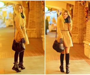 blonde, fashion, and look image
