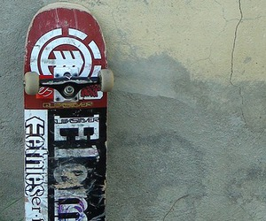 element, old, and skateboard image