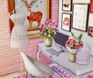 computer, cool, and sims 4 image