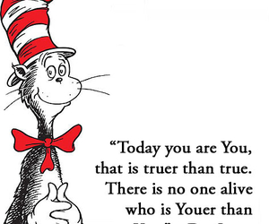 Dr. Seuss, quote, and text image