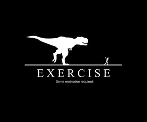 exercise, funny, and motivation image