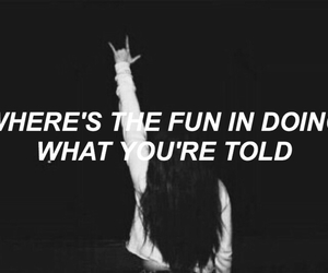 grunge, quote, and fun image