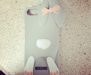 Moschino and bunny case image