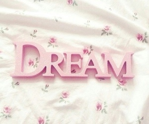 Dream, pink, and floral image