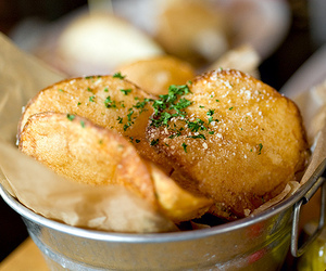 food, potato, and chips image