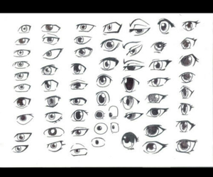 anime, eyes, and how to draw image