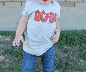 ACDC, baby, and boy image
