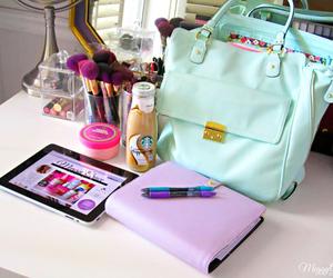 bag, school, and study image