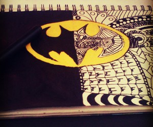 batman, draw, and liampayne image