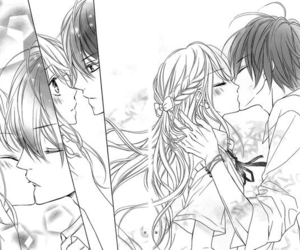 manga, kiss, and couple image