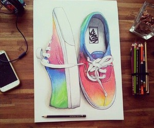 vans, art, and drawing image
