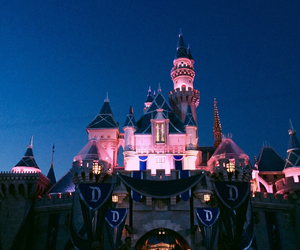 castle, diamond, and disney image