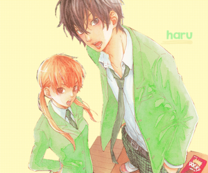 tonari no kaibutsu-kun, manga, and couple image
