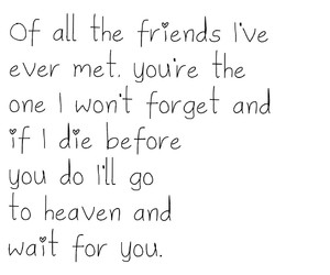 you, bestfriend, and ❤ image