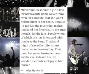 band, music, and quote image