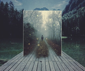 beautiful, forest, and hipster image