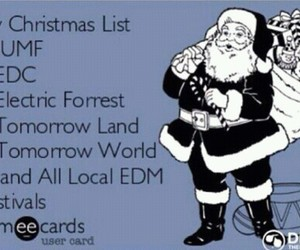 Tomorrowland, christmas, and festival image