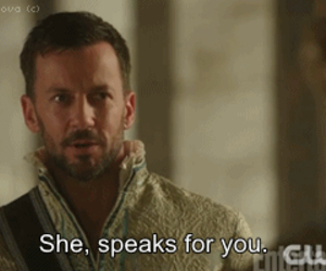 the cw, reign, and narcisse image