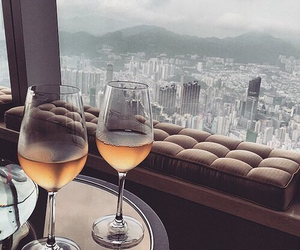 luxury, city, and champagne image