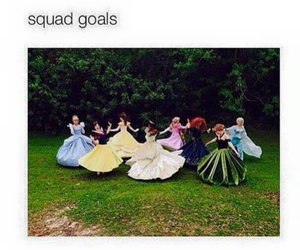 disney, funny, and squad image