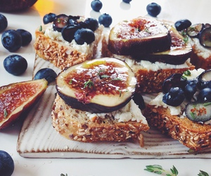 blueberry, eat, and fig image