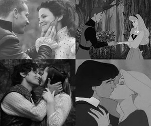 snowing, wonderland, and ouat image