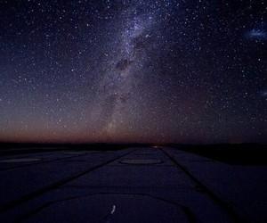 night, shiny, and sky image