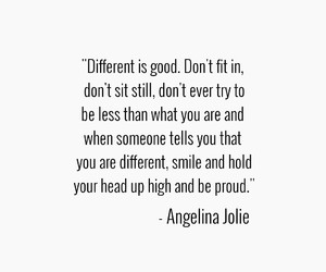 Angelina Jolie and quote image