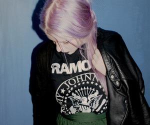 girl, grunge, and ramones image