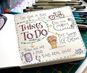 journal, art, and things to do image