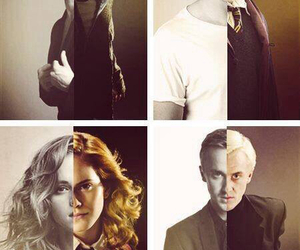 harry potter, daniel radcliffe, and draco malfoy image