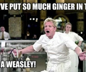 funny, weasley, and ginger image