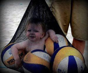 baby, sports, and cute image